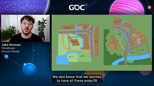 画像集#012のサムネイル/[GDC 2021]Google マップから作られた「Untitled Goose Game」のマップは,何を目指したのか