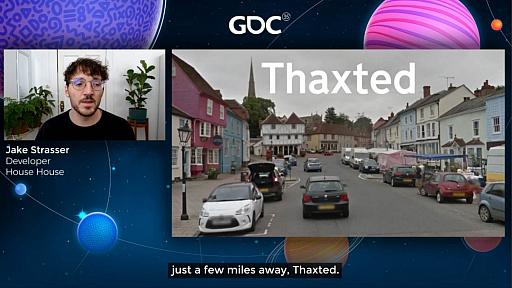 画像集#013のサムネイル/[GDC 2021]Google マップから作られた「Untitled Goose Game」のマップは,何を目指したのか