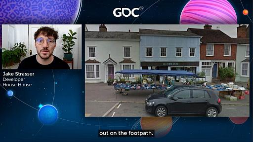 画像集#014のサムネイル/[GDC 2021]Google マップから作られた「Untitled Goose Game」のマップは,何を目指したのか