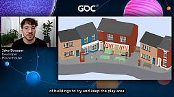 画像集#016のサムネイル/[GDC 2021]Google マップから作られた「Untitled Goose Game」のマップは,何を目指したのか