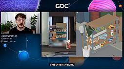 画像集#018のサムネイル/[GDC 2021]Google マップから作られた「Untitled Goose Game」のマップは,何を目指したのか