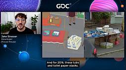 画像集#020のサムネイル/[GDC 2021]Google マップから作られた「Untitled Goose Game」のマップは,何を目指したのか