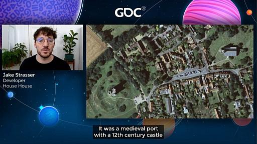 画像集#025のサムネイル/[GDC 2021]Google マップから作られた「Untitled Goose Game」のマップは,何を目指したのか