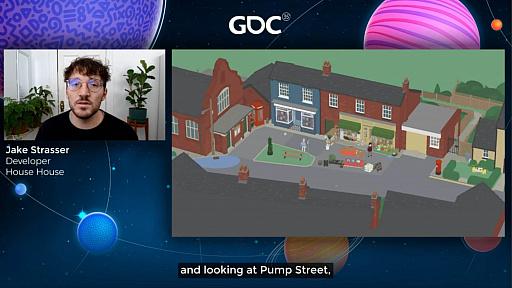 画像集#026のサムネイル/[GDC 2021]Google マップから作られた「Untitled Goose Game」のマップは,何を目指したのか