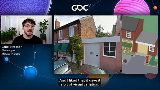 画像集#027のサムネイル/[GDC 2021]Google マップから作られた「Untitled Goose Game」のマップは,何を目指したのか