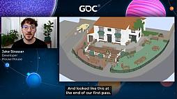 画像集#028のサムネイル/[GDC 2021]Google マップから作られた「Untitled Goose Game」のマップは,何を目指したのか