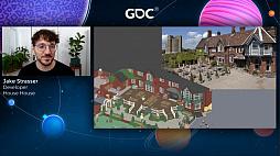 画像集#029のサムネイル/[GDC 2021]Google マップから作られた「Untitled Goose Game」のマップは,何を目指したのか