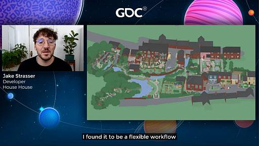 画像集#033のサムネイル/[GDC 2021]Google マップから作られた「Untitled Goose Game」のマップは,何を目指したのか