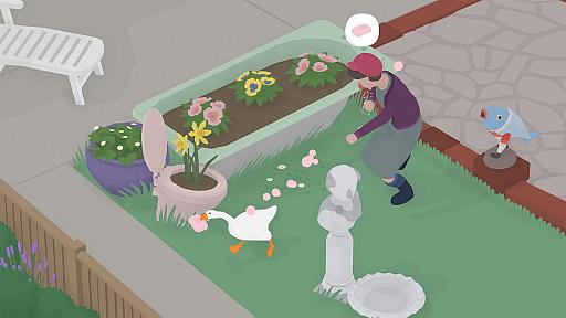 画像集#034のサムネイル/[GDC 2021]Google マップから作られた「Untitled Goose Game」のマップは,何を目指したのか