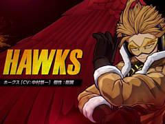 「僕のヒーローアカデミア One's Justice2」の有料DLCキャラクター第1弾「ホークス」が本日配信開始。ホークスの強さが分かるPVも公開