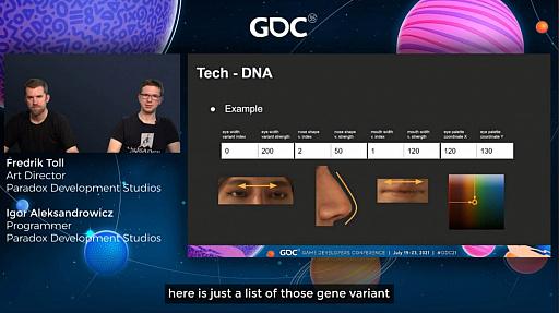 """画像集#010のサムネイル/[GDC 2021]「Crusader Kings III」の""""遺伝""""システムとキャラクターグラフィックスの自動生成について,技術とアートの両面から解説"""