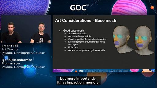 """画像集#016のサムネイル/[GDC 2021]「Crusader Kings III」の""""遺伝""""システムとキャラクターグラフィックスの自動生成について,技術とアートの両面から解説"""