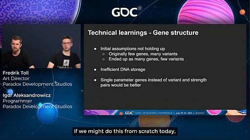 """画像集#020のサムネイル/[GDC 2021]「Crusader Kings III」の""""遺伝""""システムとキャラクターグラフィックスの自動生成について,技術とアートの両面から解説"""