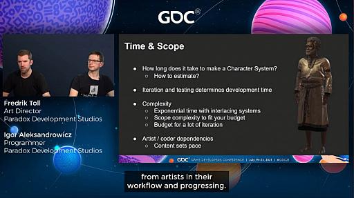 """画像集#022のサムネイル/[GDC 2021]「Crusader Kings III」の""""遺伝""""システムとキャラクターグラフィックスの自動生成について,技術とアートの両面から解説"""