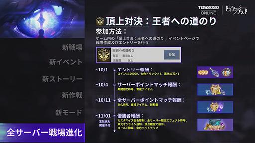 画像集#020のサムネイル/[TGS 2020]「コード:ドラゴンブラッド」は10月以降も進化しつづける! 「聖闘士ライコス」の今だけ情報もチェック