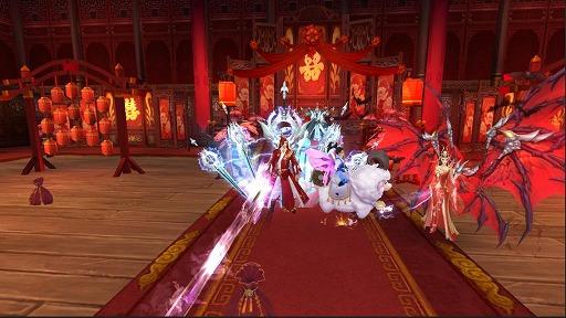 画像(008)スマホ向けMMORPG「グランドレジェンド:蓬莱戦記」,配信日が3月19日に決定