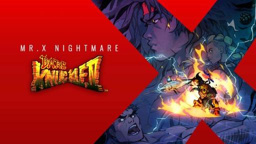"""画像集#006のサムネイル/「ベア・ナックルIV スペシャルエディション」の追加DLC""""Mr. X Nightmare""""の配信日が7月15日に決定。新モードの紹介映像が公開"""