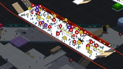 画像(006) 駅構内を整備して人の流れを管理するPC用SLG「STATIONflow」が正式リリース。インプレッションと開発者インタビューでその魅力を紹介