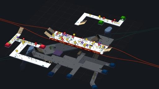 画像(008) 駅構内を整備して人の流れを管理するPC用SLG「STATIONflow」が正式リリース。インプレッションと開発者インタビューでその魅力を紹介
