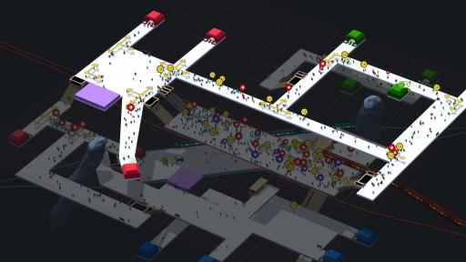 画像(009) 駅構内を整備して人の流れを管理するPC用SLG「STATIONflow」が正式リリース。インプレッションと開発者インタビューでその魅力を紹介