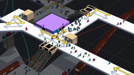 画像(016) 駅構内を整備して人の流れを管理するPC用SLG「STATIONflow」が正式リリース。インプレッションと開発者インタビューでその魅力を紹介
