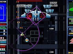 ロックオンミサイルがキモとなる縦スクロールSTG「ミサイルダンサー」のSwitch版が6月25日より配信へ。グラフィックスを刷新して登場