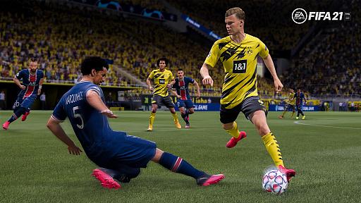 画像集#002のサムネイル/「FIFA 21」のゲームプレイに関する最新情報が公開。創造性・流動性・レスポンスの良さをテーマにした改良へ