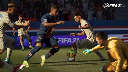 画像集#003のサムネイル/「FIFA 21」のゲームプレイに関する最新情報が公開。創造性・流動性・レスポンスの良さをテーマにした改良へ