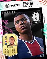 画像(002)「FIFA 21」,今年のトップ100プレイヤーが発表。1位はメッシ選手,2位はC・ロナウド選手,3位はロベルト・レヴァンドフスキ選手に