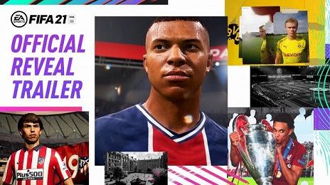 画像集#003のサムネイル/「FIFA 21」のカバースターがキリアン・エムバペ選手に決定。前作から進化したポイントや,新要素の情報も明らかに