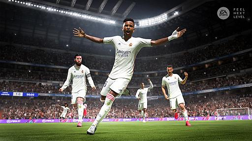 画像集#001のサムネイル/PS5用サッカーゲーム「FIFA 21 NXT LVL EDITION」のパッケージ版が2021年1月28日に発売。さまざまなコンテンツが手に入るDLコードを同梱