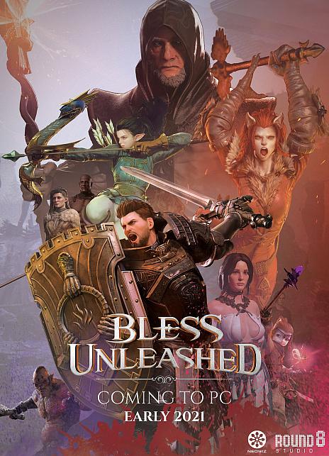 画像(006)NEOWIZ,新作MMORPG「Bless Unleashed」(ブレス アンリーシュド)のPC版を2021年にリリース。ティザートレイラーを公開