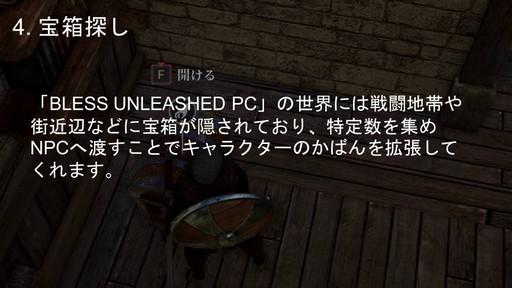 画像集#018のサムネイル/PC向けMMORPG「BLESS UNLEASHED」実機ゲームプレイ実況&コンテンツ説明会をレポート。初公開の日本語クライアントで見た最新情報を紹介