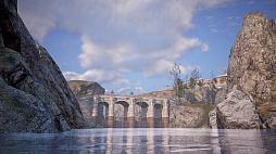 """画像集#002のサムネイル/MMORPG「BLESS UNLEASHED」のエリアガイドが公開。今回は,谷間に流れる大河により港や街が発展した""""カンパーニャ""""地域"""