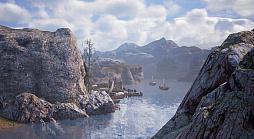 """画像集#004のサムネイル/MMORPG「BLESS UNLEASHED」のエリアガイドが公開。今回は,谷間に流れる大河により港や街が発展した""""カンパーニャ""""地域"""