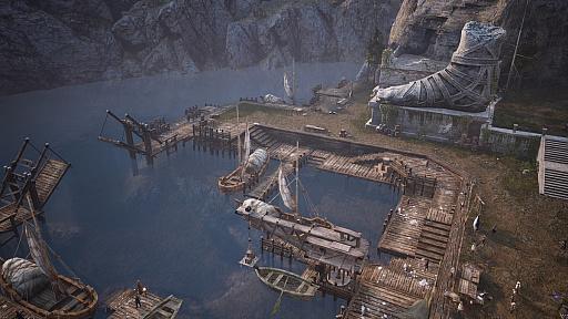 """画像集#005のサムネイル/MMORPG「BLESS UNLEASHED」のエリアガイドが公開。今回は,谷間に流れる大河により港や街が発展した""""カンパーニャ""""地域"""