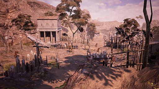 """画像集#003のサムネイル/MMORPG「BLESS UNLEASHED」,敵対勢力に対する防衛線が張られた""""ナバラ南部""""のエリアガイドが公開"""