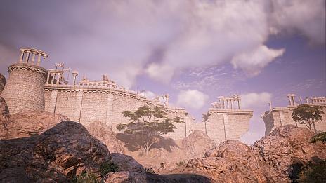 """画像集#007のサムネイル/MMORPG「BLESS UNLEASHED」,敵対勢力に対する防衛線が張られた""""ナバラ南部""""のエリアガイドが公開"""