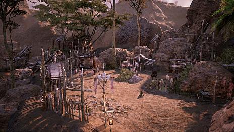 """画像集#009のサムネイル/MMORPG「BLESS UNLEASHED」,敵対勢力に対する防衛線が張られた""""ナバラ南部""""のエリアガイドが公開"""