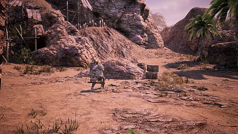 """画像集#010のサムネイル/MMORPG「BLESS UNLEASHED」,敵対勢力に対する防衛線が張られた""""ナバラ南部""""のエリアガイドが公開"""