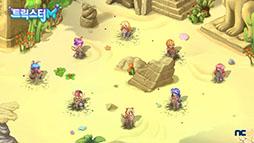 画像(003)「トリックスターM」の最新情報を掲載。シームレスなオープンワールドやPC版から継承される「ドリルシステム」を特徴とするスマホ向けMMORPG