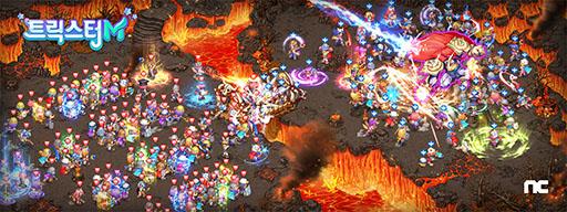 画像(004)「トリックスターM」の最新情報を掲載。シームレスなオープンワールドやPC版から継承される「ドリルシステム」を特徴とするスマホ向けMMORPG