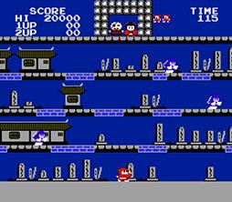 画像(004)「忍者じゃじゃ丸くん」「ワルキューレの冒険 時の鍵の伝説」など10作品がauスマートパスプレミアム クラシックゲームに登場