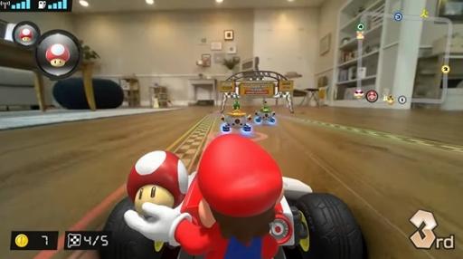 画像(001)「マリオカート ライブ ホームサーキット」が2020年10月16日に発売。ゲーム内の出来事とカメラ内蔵のカートの動きが連動する,新たな形のマリオカートが登場