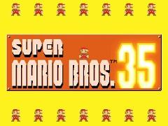 スーパーマリオでバトロワ!「SUPER MARIO BROS. 35」がNintendo Switch Online加入者向けに10月1日から期間限定で配信