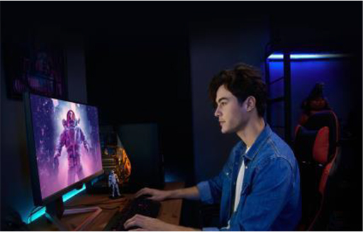 画像(013)BenQ,ゲーマー向けディスプレイの新ブランド「MOBIUZ」第1弾製品を国内発売。27型および24.5型フルHDモデルを用意