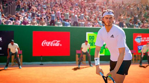 「テニス ワールドツアー 2」が12月17日にリリース。錦織 圭選手など38人のテニスプレイヤーが実名で登場