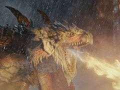 """映画「モンスターハンター」の本編映像が公開。火竜や空の王者とも呼ばれている""""リオレウス""""との戦いが確認できる"""