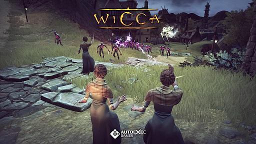 画像集#004のサムネイル/アクションストラテジー「Wicca」のゲームプレイトレイラーが公開。魔女狩りとスコットランドの伝承をテーマにした作品