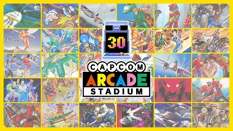 画像集#009のサムネイル/Switch用ソフト「カプコンアーケードスタジアム」が2021年2月に配信。カプコンの名作アーケードゲーム32タイトルが楽しめる
